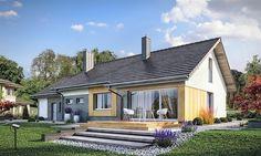 projekt Atlant 2 PS WRW1307 Atlanta, House Plans, Outdoor Decor, Cap, Home Decor, Projects, Baseball Hat, Decoration Home, Room Decor