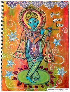 Jessica Sporn Designs: Introducing the Krishna Stencil from ...