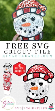 Christmas Mandala, 3d Christmas, Xmas, Cricut Svg Files Free, Free Svg Cut Files, Cricut Fonts, Cricut Christmas Ideas, Christmas Projects, Christmas Decorations