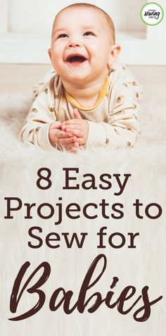 Whether you, a family member, or a friend are expecting a baby we've compiled a list of projects you'll want to be making! Sewing your own baby clothes & accessories will hold infinitely more meaning than anything you buy in a store. Wow your baby shower guests with some of these adorable project ideas.