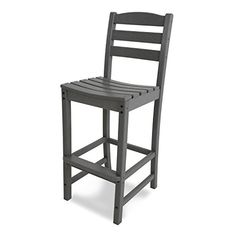 POLYWOOD La Casa Cafe Plastic Stationary Bar Stool Chair(s) with Slat Seat at Lowe's. Spectator seating takes on a whole new meaning when you add the comfortable and stylish POLYWOOD® La Casa Café bar Side Chair to your outdoor Patio Bar Stools, Outdoor Bar Stools, Bar Stool Chairs, Patio Dining, Outdoor Seating, Outdoor Dining, Side Chairs, Outdoor Chairs, Outdoor Furniture