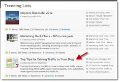The Ultimate Tool for Building a List Post [includes a great list of tips for driving traffic to your blog!]