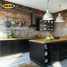 """32 Fabulous Black Kitchen Cabinets You Definitely Like - Are you considering the awe-inspiring beauty of black kitchen cabinets? Black is the new """"in color"""" in kitchen design and décor. The effect can be ver. Black Kitchen Cabinets, Kitchen Cabinet Doors, Kitchen Shelves, Kitchen Layout, New Kitchen, Ikea Cabinets, Island Kitchen, Kitchen Cabinetry, Black Ikea Kitchen"""