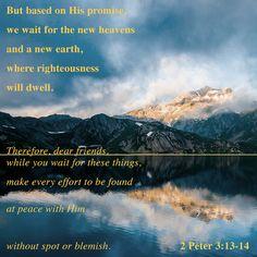 2 Peter 3:13-14 #wordsearchbible #bible #NewTestament #Christian