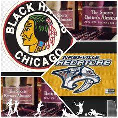 "4/19/15 NHL Playoffs: #Nashville #Predators vs #Chicago #Blackhawks (Take: Chicago -155,Under 5 Goals) (THIS IS NOT A SPECIAL PICK ) ""The Sports Bettors Almanac"" SPORTS BETTING ADVICE  On  95% of regular season games ATS including Over/Under   1.) ""The Sports Bettors Almanac"" available at www.Amazon.com  2.) Check for updates   Marlawn Heavenly VII ( SportyNerd@ymail.com )  #NFL #MLB #NHL #NBA #NCAAB #NCAAF #LasVegas #Football #Basketball #Baseball #Hockey #SBA #Boxing #Business…"