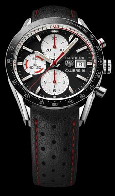 TimeZone : Industry News » BASELWORLD 2018 - TAG Heuer Carrera Calibre 16 Chronograph