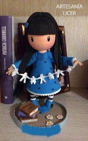 Artesania Licer: COMO HACER GORJUSS PASO A PASO Doll Making Tutorials, Clay Tutorials, Dr Seuss Fabric, Fondant Figures Tutorial, Biscuit, Clothespin Dolls, Doll Tutorial, Pasta Flexible, Flower Fairies