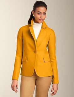 Talbots - Plush Twill Jacket