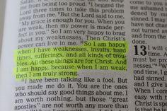 "-inspire: "" 2 Corinthians 12:10 """