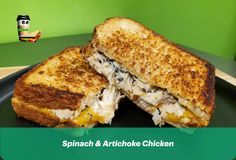 Spinach Artichoke Chicken, Best Sandwich, Rice Bowls, Tasty Dishes, Coffee Drinks, Cravings, Sandwiches, Good Food, Lunch