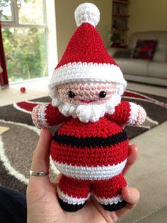 Ravelry: Little Amigurumi Santa pattern by Sweet N' Cute Creations