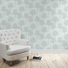 A wide range of Wallpaper available to buy today at Dunelm, the UK's largest homewares and soft furnishings store. Order now for a fast home delivery or reserve in store. White Brick Wallpaper, White Brick Walls, Bird Wallpaper, Damask Wallpaper, Textured Wallpaper, Wallpaper Ideas, Wallpaper Roll, Soft Furnishings, Designer