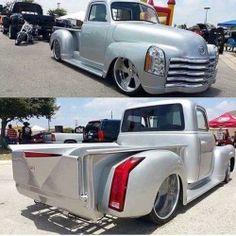 custom truck one source 57 Chevy Trucks, Custom Chevy Trucks, Hot Rod Trucks, Gm Trucks, Chevy Pickups, Cool Trucks, Custom Cars, Chevy 3100, Classic Pickup Trucks