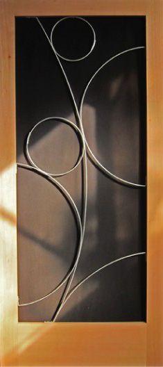 Crestview Doors Susan Wallace mid century screen door design 1