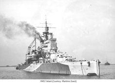 HMS Valiant, WW2 battleship