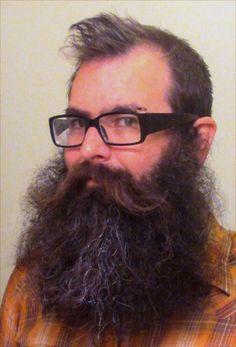 Jason Kiley - amazingly full thick bushy beard and huge mustache coloration fluffy long beards bearded man men natural length epic level bearding Epic Beard, Red Beard, Slick Hairstyles, Long Beards, Dapper Gentleman, Beard Tattoo, Knit Tie, Man Men