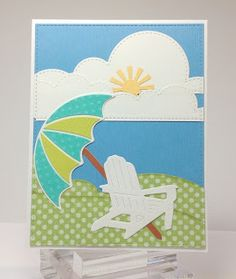 Crafting While I Wait: Die Cut Cards With Marcia
