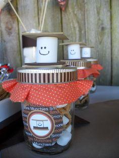 smores mix jars