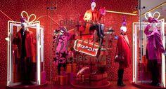"""DEBENHAMS,London UK,""""Dreaming of a BRIGHT Christmas"""", pinned by Ton van der Veer"""