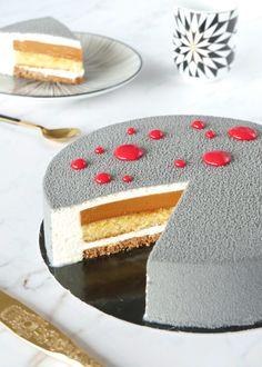Dessert Chef, Dessert Recipes, Mousse Cake, French Pastries, Christmas Desserts, Vanilla Cake, Cupcake Cakes, Caramel, Cake Decorating
