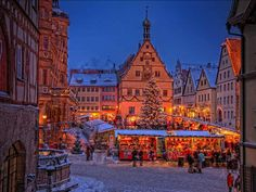Christmas Market in Rothenberg Germany