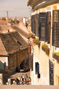 breathtakingdestinations: Sibiu - Romania (by draculina_ak) Romania Facts, Romania Tours, Sibiu Romania, Eastern Europe, Photos, Pictures, Bulgaria, Beautiful Places, Amazing Places