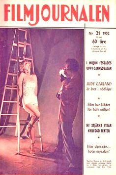 1952: Filmjournalen magazine cover of Marilyn Monroe .... #marilynmonroe #normajeane #vintagemagazine #pinup #iconic #raremagazine #magazinecover #hollywoodactress #1950s