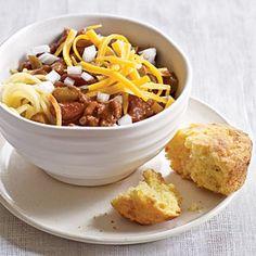 Top-Rated Chili Recipes | Cincinnati Turkey Chili | CookingLight.com