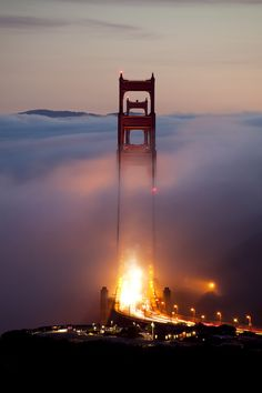 Standing Tall  by Scott Sawyer  Golden Gate Bridge, San Francisco, California