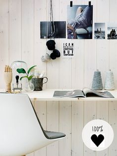inspiring working space by the style files, via Flickr