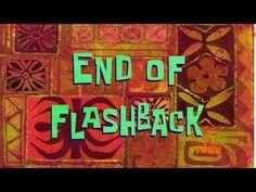 End of Flashback | SpongeBob Time Card #120