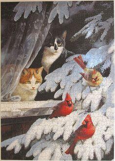 Bird Watchers (Persis Clayton Weirs) by Leonisha, via Flickr