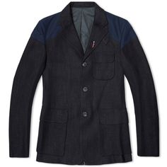 Nigel Cabourn – Mallory Jacket – Black Navy