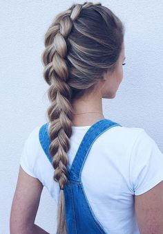 10 totally trendy summer hairstyles summer hairstyles braided hairstyle cute braids ponytail summer hairstyles braids easy hairstyles for school french braids summer hairstyles braids summer braids 2020 braids summerhairstyles Lazy Day Hairstyles, Easy Hairstyles For School, Box Braids Hairstyles, Wedding Hairstyles, Hairstyle Ideas, Teenage Hairstyles, Ladies Hairstyles, Hairstyles 2016, Updos Hairstyle