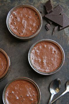 The absolute best French Chocolate Mousse Recipe ~ Made With Pink