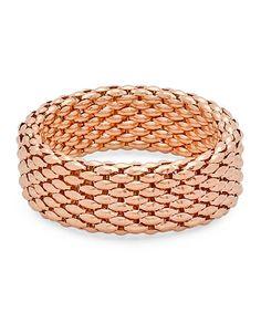 Look what I found on #zulily! Rose Gold Italian Stretch Bracelet #zulilyfinds