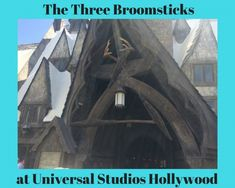 The Three Broomsticks is the counter service restaurant inside The Wizarding World of Harry Potter in Universal Studios Hollywood.