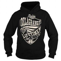 Cool Team DELAGRANGE Lifetime Member (Dragon) - Last Name, Surname T-Shirt T shirts