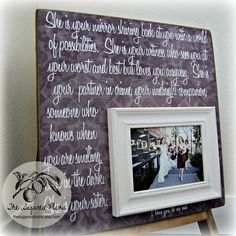 Unique Wedding Gifts Under USD75 : ... Gift, Personalized Wedding Frame Gift, Wedding Gift for Grandparents