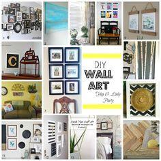 DIY Wall Art Roundup