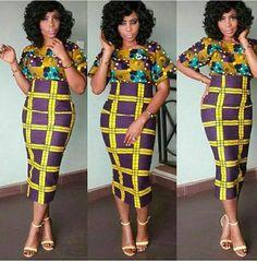 Impression haute taille règle jupe classique, jupe taille haute, jupe midi, jupe longueur genou, jupe imprimé africain,