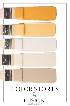 March's Color Story from Fusion Mineral Paint Room Colors, Wall Colors, House Colors, Colours, Colour Pallete, Colour Schemes, March Colors, Paint Your House, Paint Colors For Home