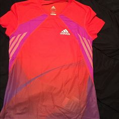 Adidas short sleeve top! Brand new w/ tags never been worn. Provides great performance comfort and style! Adidas Tops