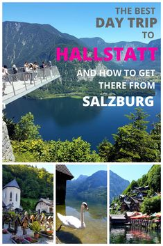 Plan your Salzburg to Hallstatt day trip with this detailed guide. It's guaranteed to answer all your questions about getting from Salzburg to Hallstatt, the picture-perfect town on the shores of Lake Hallstatt in Austria. Europe Destinations, Europe Travel Tips, European Travel, Travel Guides, Travel Trip, Hawaii Travel, Holiday Destinations, Italy Travel, Travel Photographie