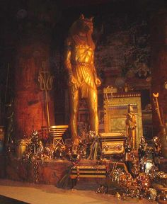 Behind The Scenes Of The Revenge Of The Mummy Ride At Universal Studios In Florida