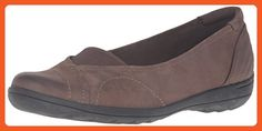 Rockport Cobb Hill Women's Lizzie Ballet Flat,  Stone, 9 M US - Mules and clogs for women (*Amazon Partner-Link)