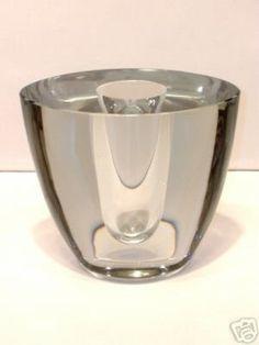 WILLY JOHANSSON HADELAND NORWAY ART GLASS 1950'S