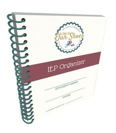 Frustrated with organizing IEP paperwork? Get your printable IEP organizer and you will have everything you need all in one notebook.