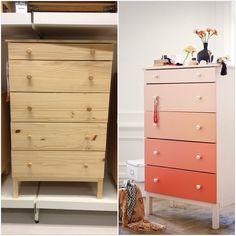 Tarva Chest Of 3 Drawers Into Wardrobe Ikea Hackers Materials