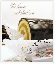polewa czekoladowa z żelatyną